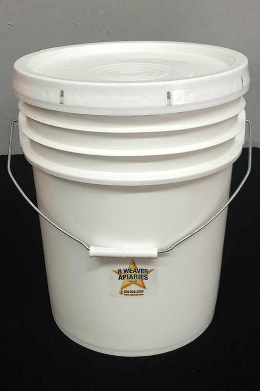 5-Gal Honey Bucket with Lid