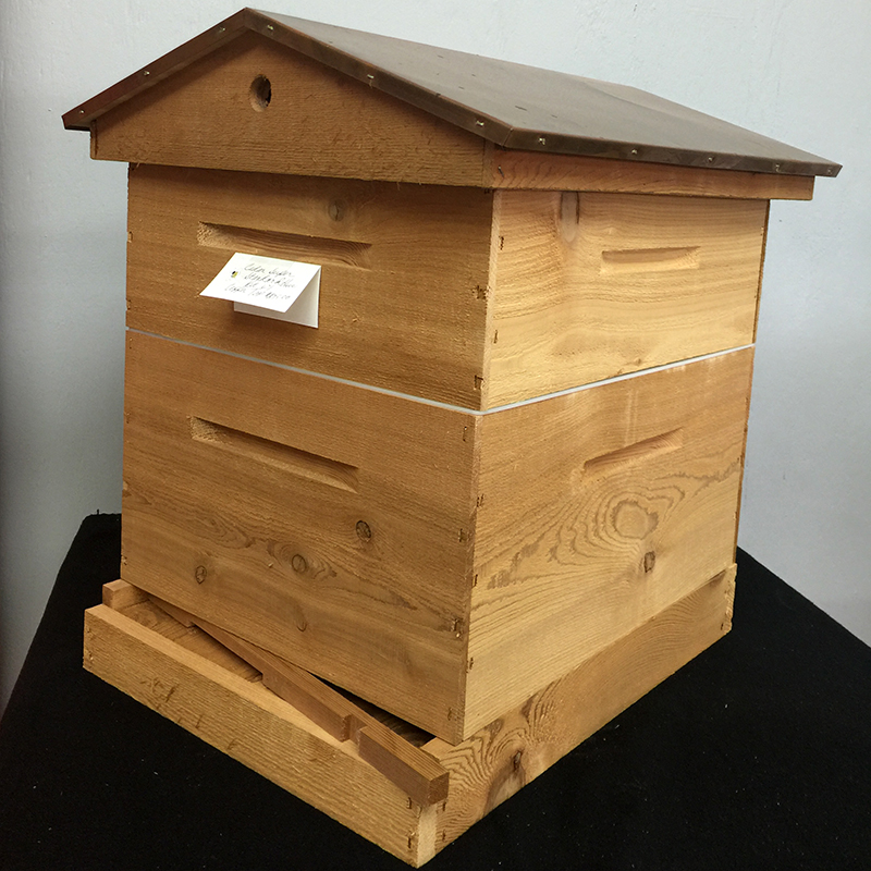 Urban Beekeper Standard Hive Kit with Honey Super