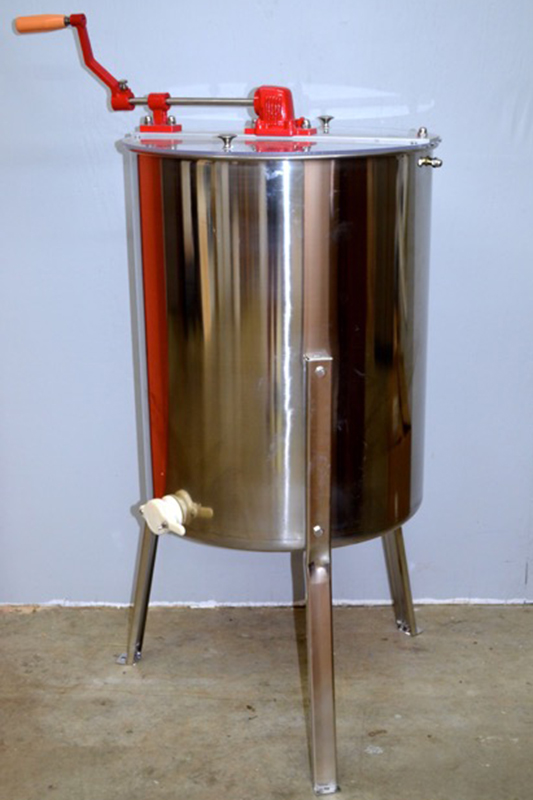 4-Frame Manual Honey Extractor