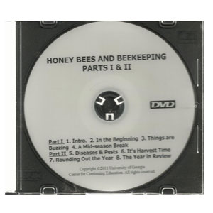Honey Bees & Beekeeping. A Year in the Apiary. (DVD)