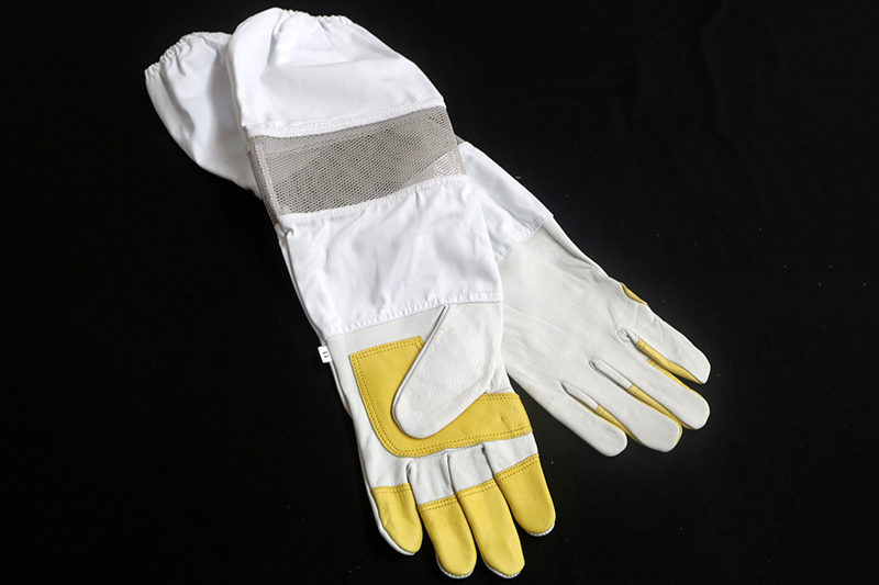 Leather Bee Gloves