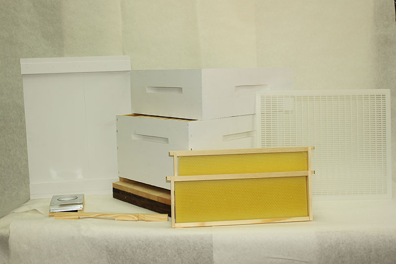 Standard Hive Kit with Honey Super
