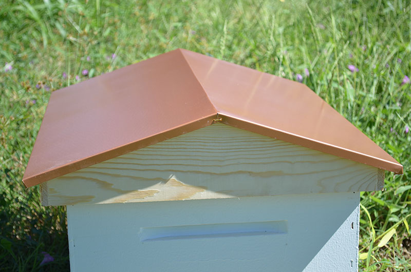 COPPER COLOR GARDEN HIVE TOP