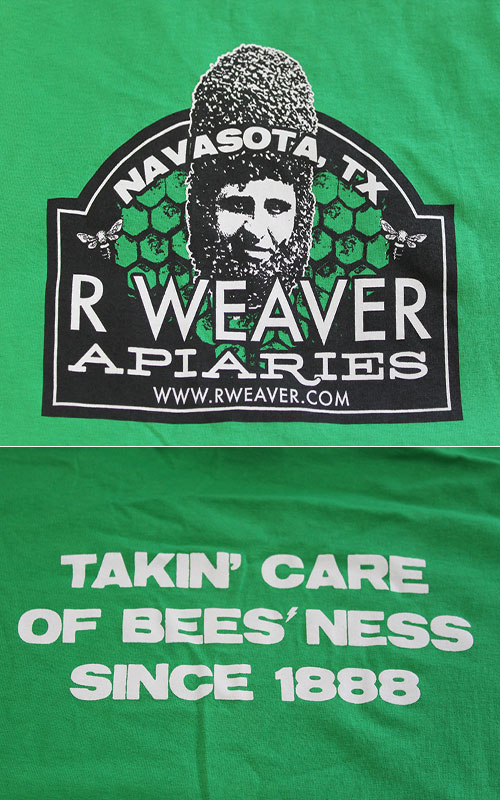 Regular T-Shirt Bee Beard - Green