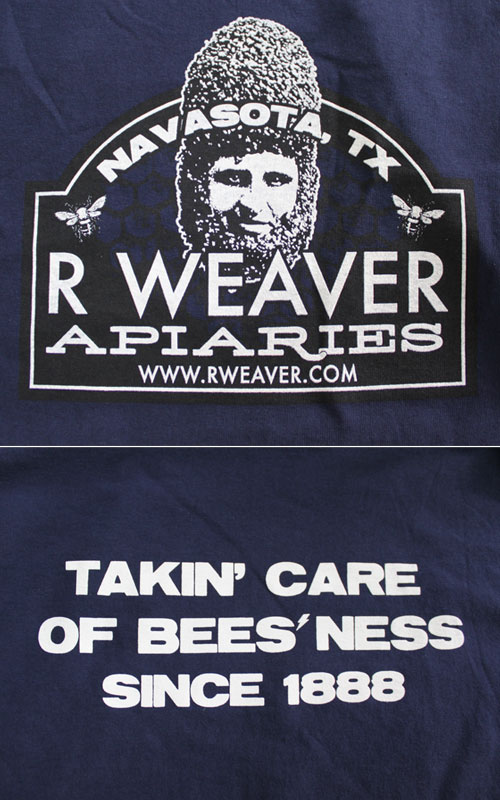 Regular T-Shirt Bee Beard - Navy